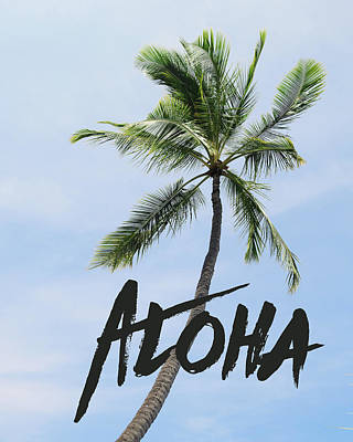 Aloha Photograph - Palm Tree by Nastasia Cook