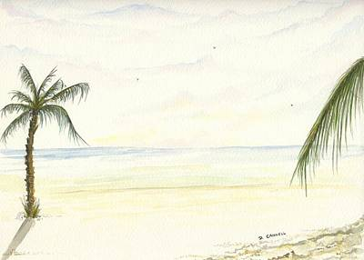 Digital Art - Palm Tree Study Six by Darren Cannell