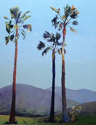 Painting - Palm Trio by Shannon Celia
