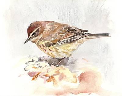 Palm Warbler Art Print