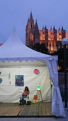 Photograph - Palma  Art Tent by Eva Konya