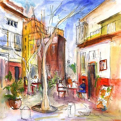 Sketching Drawing - Palma De Mallorca 02 by Miki De Goodaboom