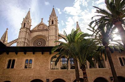 Photograph - Palma De Mallorca, Cathedral - 2 by Andrea Mazzocchetti