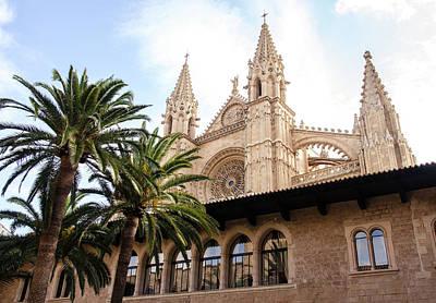 Photograph - Palma De Mallorca, Cathedral  by Andrea Mazzocchetti