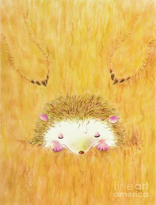 Kangaroo Mixed Media - Palmeo And Kangaroo by Jennette Lau