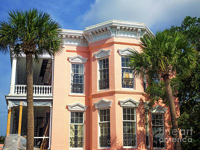 Photograph - Palmer Bed And Breakfast Charleston by John Rizzuto