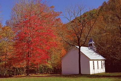 Photograph - Palmer Chapel by Alan Lenk