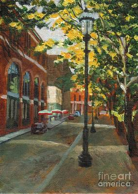 Painting - Palmer Street by Claire Gagnon