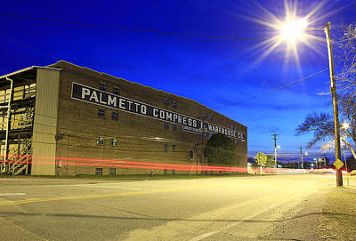 Photograph - Palmetto Compress Warehouse Co. 03/10/2013 G by Joseph C Hinson Photography