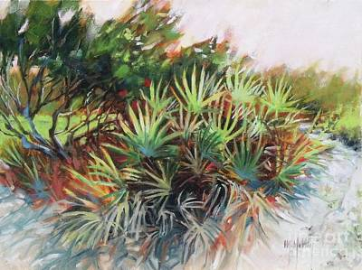 Painting - Palmetto Dance by Mary Hubley