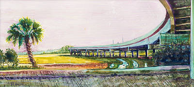 Painting - Palmetto Flyover by David Randall