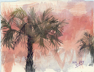 Painting - Palmettos by Mimi Boothby
