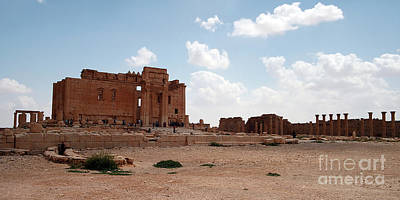 Photograph - Palmyra-temple Of Bel by PJ Boylan
