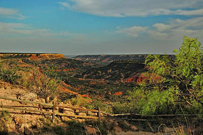Photograph - Palo Duro Canyon by Ben Prepelka
