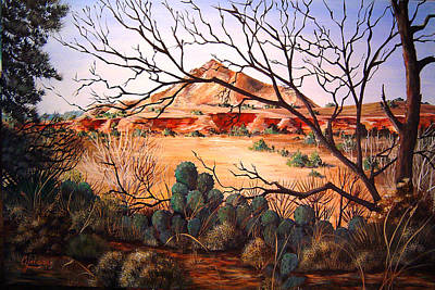 Painting - Palo Duro Canyon by Cynara Shelton