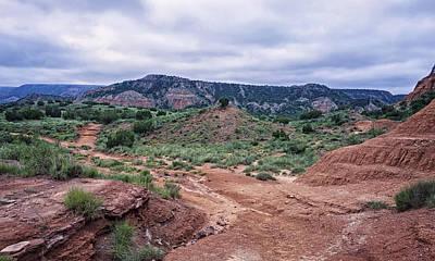 Amarillo Photograph - Palo Duro Canyon Hike by Joan Carroll