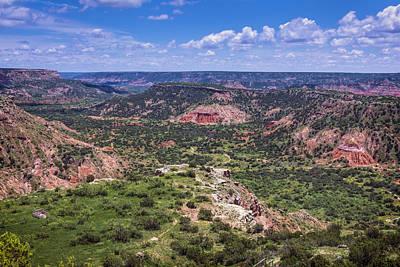 Amarillo Photograph - Palo Duro Canyon by Joan Carroll