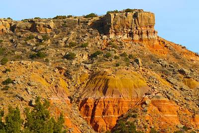 Photograph - Palo Duro Canyon by Polly Castor