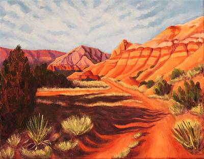 Painting - Palo Duro Canyon by Ruth Soller
