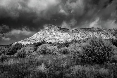 Photograph - Palo Duro Terrain by James Barber
