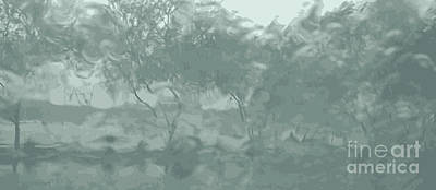 Photograph - Palo Verde Rain by Ray Hunt