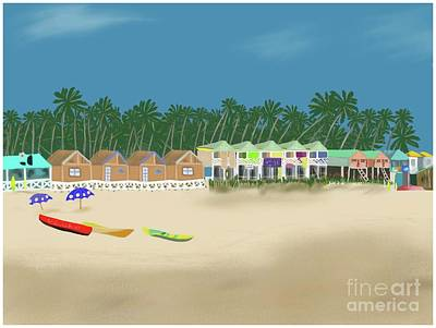 Palolem Beach Goa Art Print