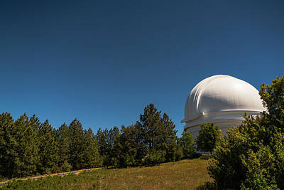 Photograph - Palomar Observatory Mount Palomar California by Lawrence S Richardson Jr