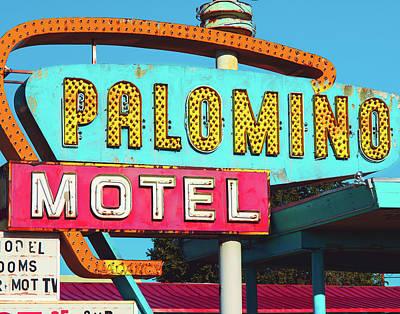 Photograph - Palomino Hotel by Sonja Quintero