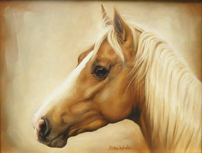 Painting - Palomino by Margaret Stockdale