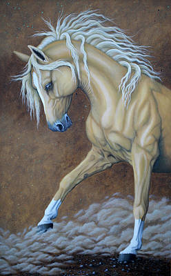 Painting - Palomino by Tish Wynne