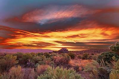 Photograph - Palomino Valley Pre-sunrise by SB Sullivan
