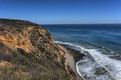 Photograph - Palos Verde Coast by Nisah Cheatham