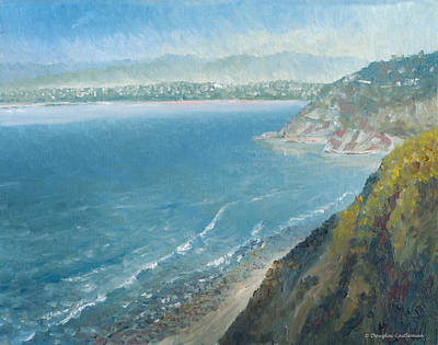 Painting - Palos Verdes Autumn Morning No. 2 by Douglas Castleman