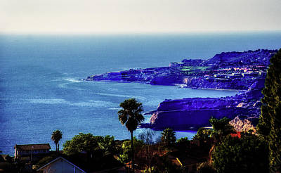Photograph - Palos Verdes Coast View by Joseph Hollingsworth
