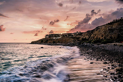 Palos Verdes Sunset Art Print by Seascaping Photography
