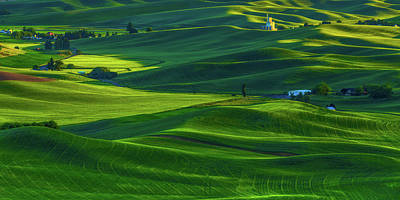 Photograph - Palouse 6 by Thomas Hall