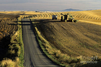 Photograph - Palouse Back Roads Sunrise by Jim Corwin