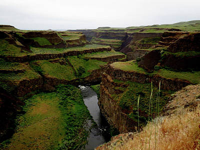 Photograph - Palouse Canyon River Walls by Jacqueline  DiAnne Wasson