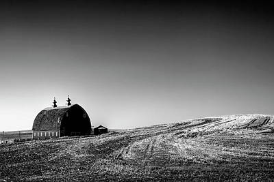 Photograph - Palouse Country Barn by David Patterson
