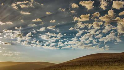 Photograph - Palouse Daybreak by Don Schwartz