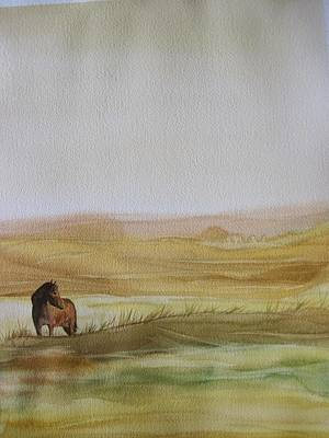 Wall Art - Painting - Palouse by Dominique Bachelet