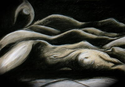 Nude Painting - Palouse Dreams by Dan Earle