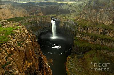 Photograph - Palouse Falls by Adam Jewell