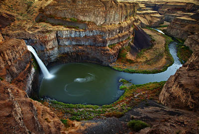 Darren Photograph - Palouse Falls by Darren White