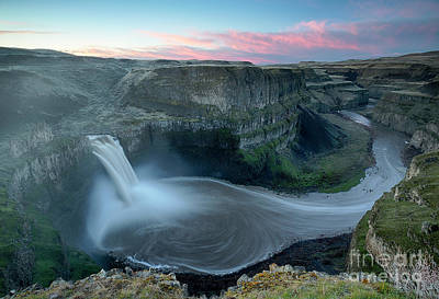 Photograph - Palouse Falls Dawn by Idaho Scenic Images Linda Lantzy