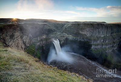 Photograph - Palouse Falls Sunrise by Idaho Scenic Images Linda Lantzy