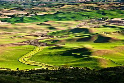 Photograph - Palouse Hills 2 by Niels Nielsen