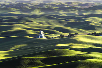 Photograph - Palouse by Kyle Wasielewski