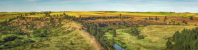 Photograph - Palouse Panorama by Steven Greenbaum