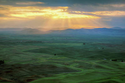 Photograph - Palouse Sunrise - Washington by Nikolyn McDonald